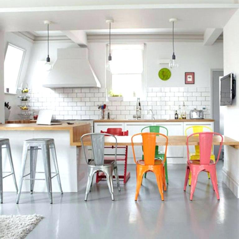 Nice Colored Chairs For Kitchen Colorful Kitchen Chairs Subscribed