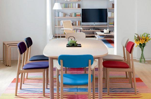 Nice Colorful Dining Chairs 10 Trends In Decorating With Modern Chairs 20 Dining Room Design
