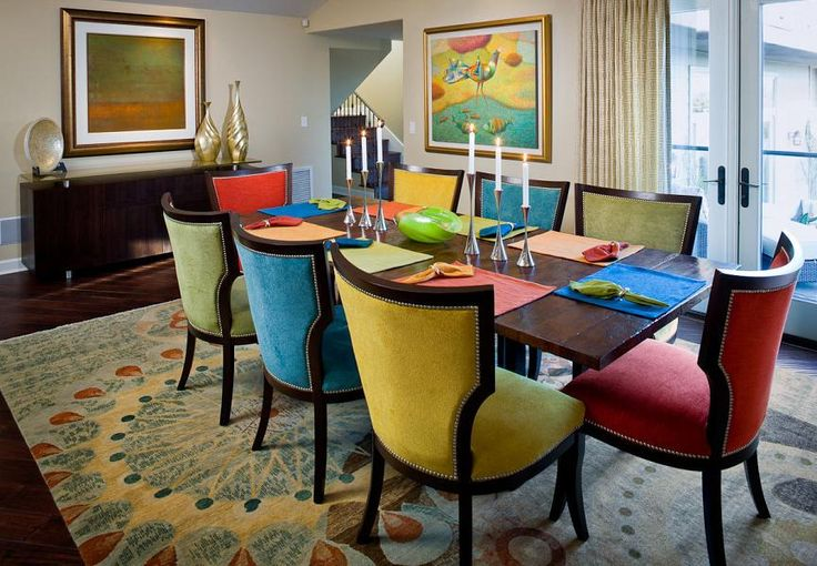 Nice Coloured Dining Room Chairs Cool Colorful Dining Chairs With Amazing Ideas Colorful Dining