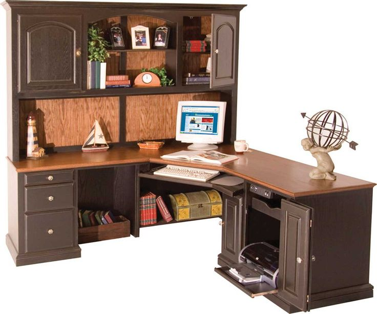 Nice Corner Computer Desk With Hutch Best 25 Corner Desk With Hutch Ideas On Pinterest White Desks