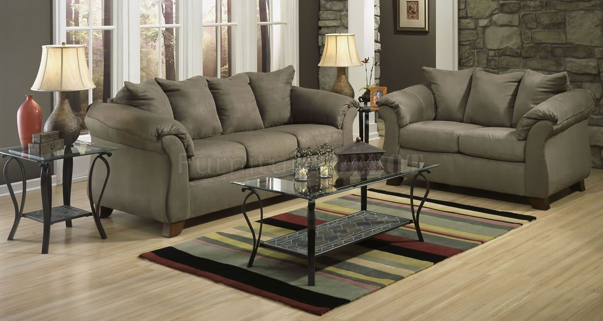 Nice Couch And Loveseat Combo Modern Living Room With Sage Microfiber Elegant Modern Sofa