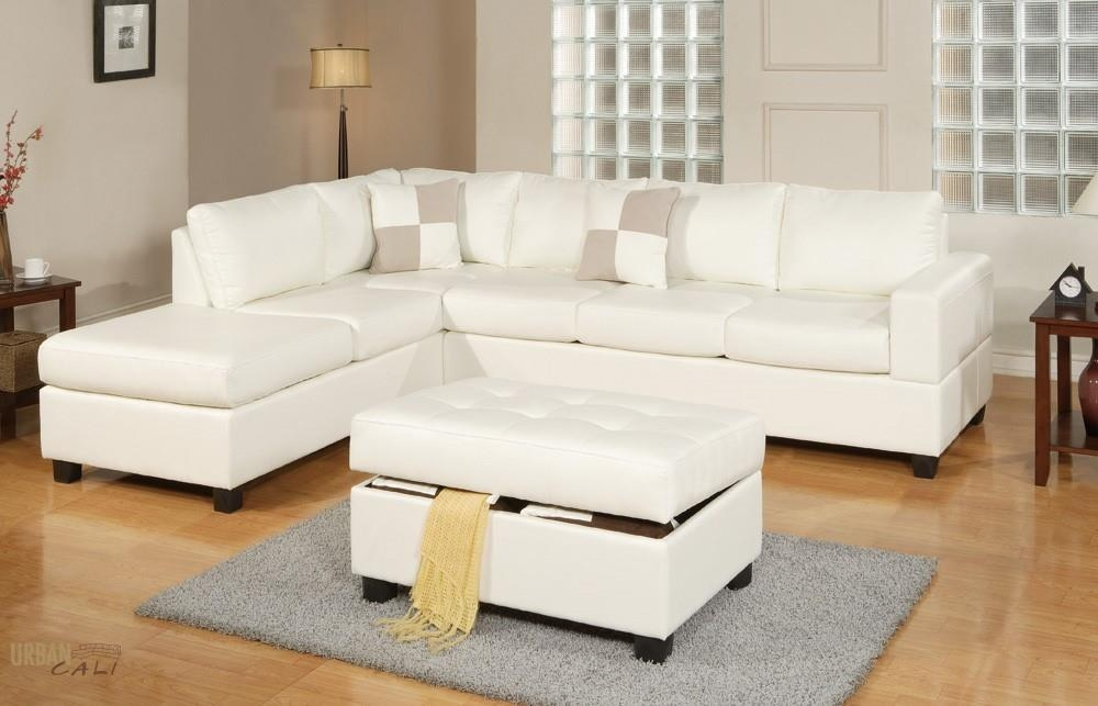 Nice Cream Leather Chaise Lounge Living Room Sacramento White Cream Leather Sectional Sofa With