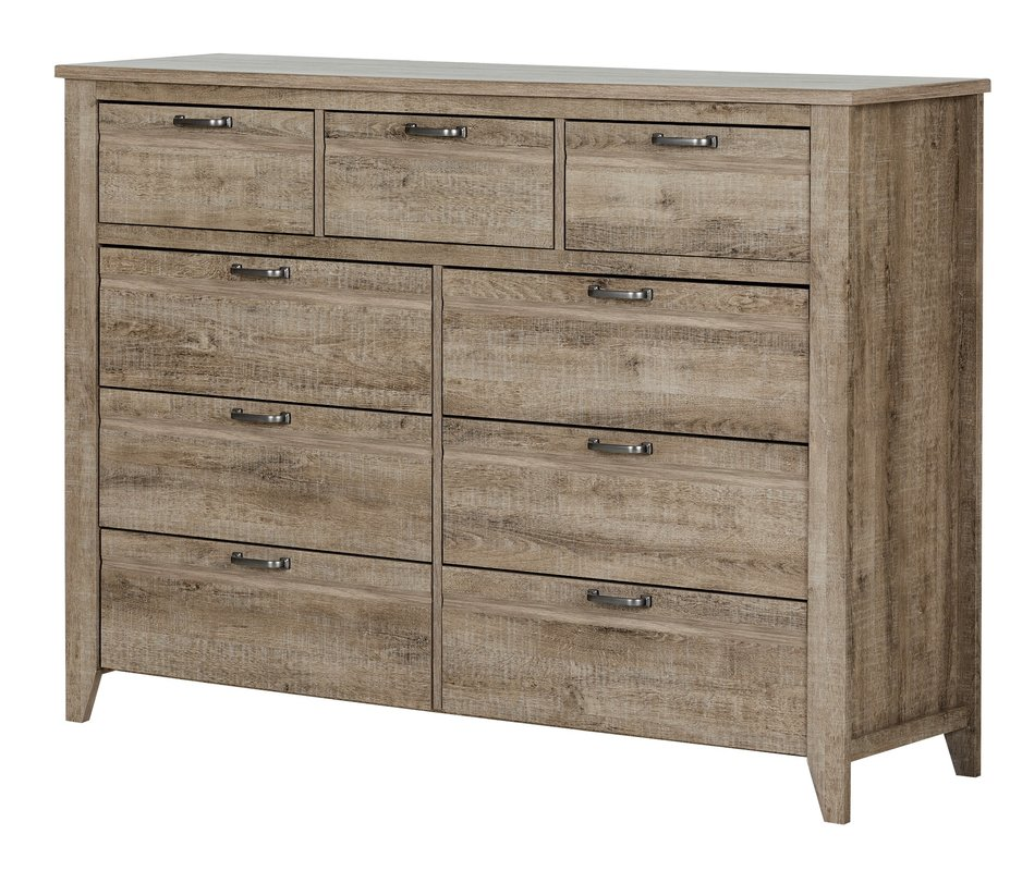 Nice Double Chest Of Drawers Brighthurst 9 Drawer Double Dresser Reviews Joss Main