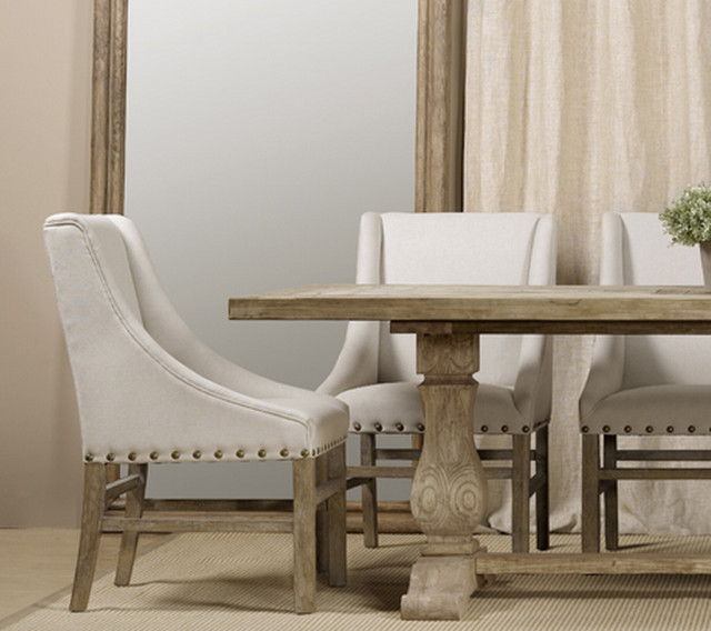 Nice Fabric Dining Room Chairs With Arms Linen Dining Chairs With Arms Insurserviceonline