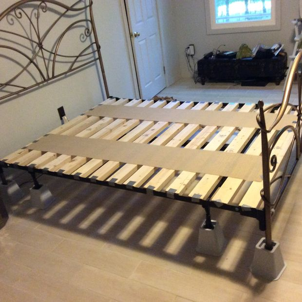 Nice Foam Mattress On Platform Bed Foundation For Queen Size Memory Foam Bed From Basic Frame 5 Steps