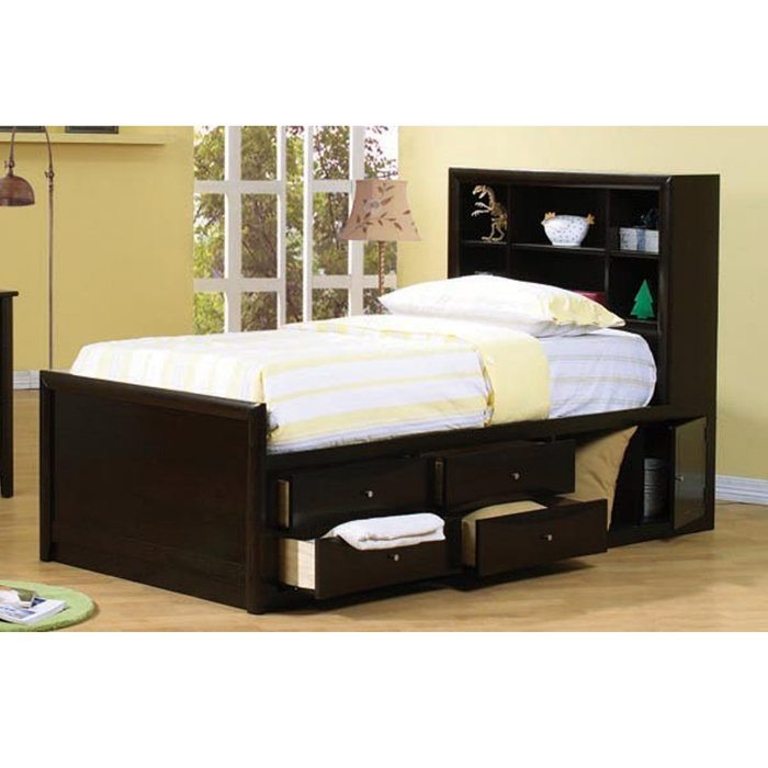 Nice Full Bed And Frame Storage Bed Frame Home Decoration Trans