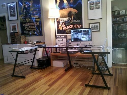 Nice Glass Desk Setup 14 Best Desks Images On Pinterest Desk Setup Gaming Setup