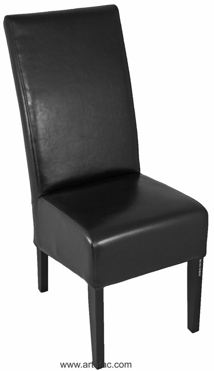 Nice High Back Leather Dining Chairs High Back Black Leather Dining Chair