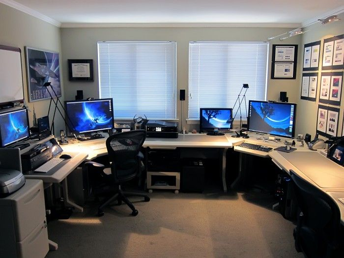 Nice Home Office Desktop Computer 186 Best Desk Ideas Images On Pinterest Computer Setup Pc Setup