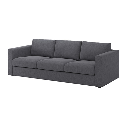 Nice Ikea 3 Seater Sofa Bed Vimle 3 Seat Sofa Gunnared Medium Grey Ikea
