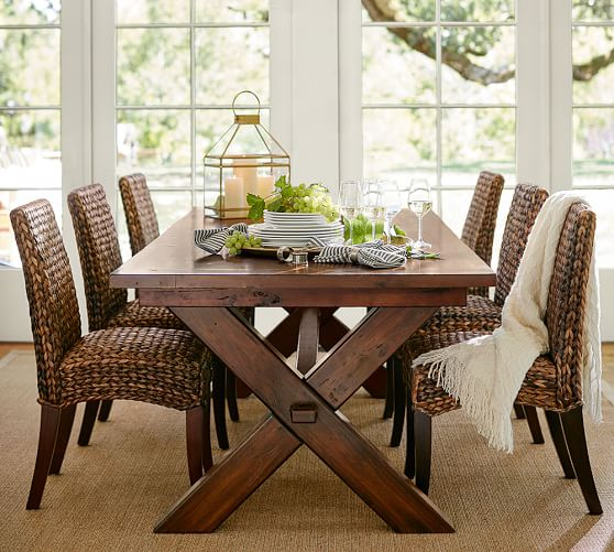 Nice Kitchen Side Chairs Seagrass Side Chair Pottery Barn
