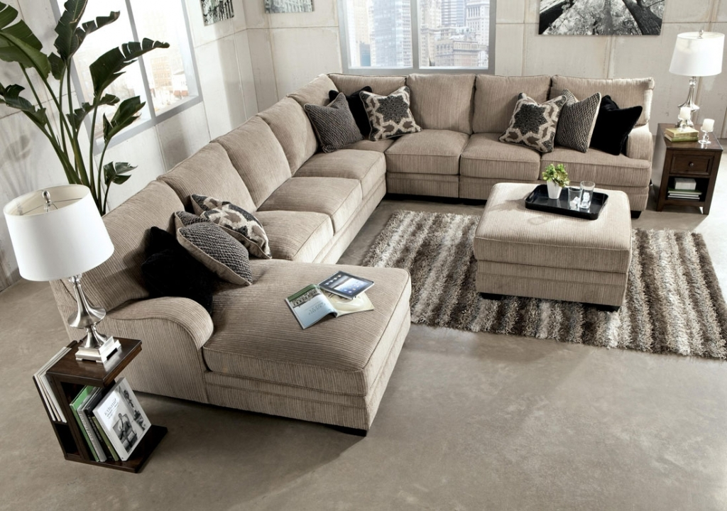 Nice Large Leather Sectional With Chaise Sofa Beds Design Stylish Ancient Large Sectional Sofas With