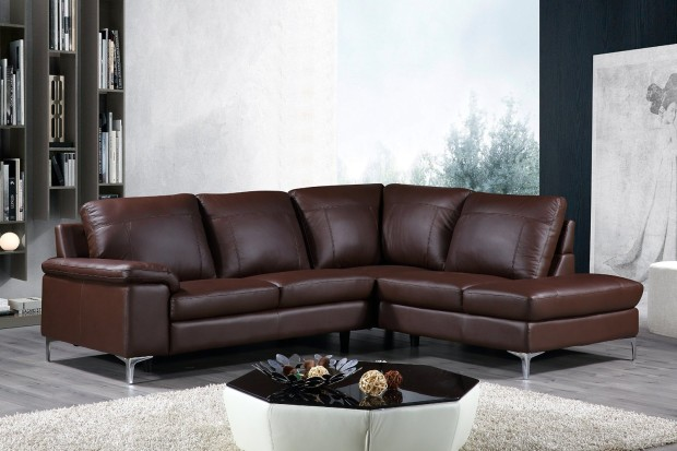 Nice Leather Sofa With Chaise Lounge Design Sofa With Chaise Lounge Modern The Decoras Jchansdesigns