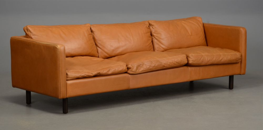 Nice Light Tan Leather Couch Lovable Danish Leather Sofa Long Danish Leather Sofa In Light Tan