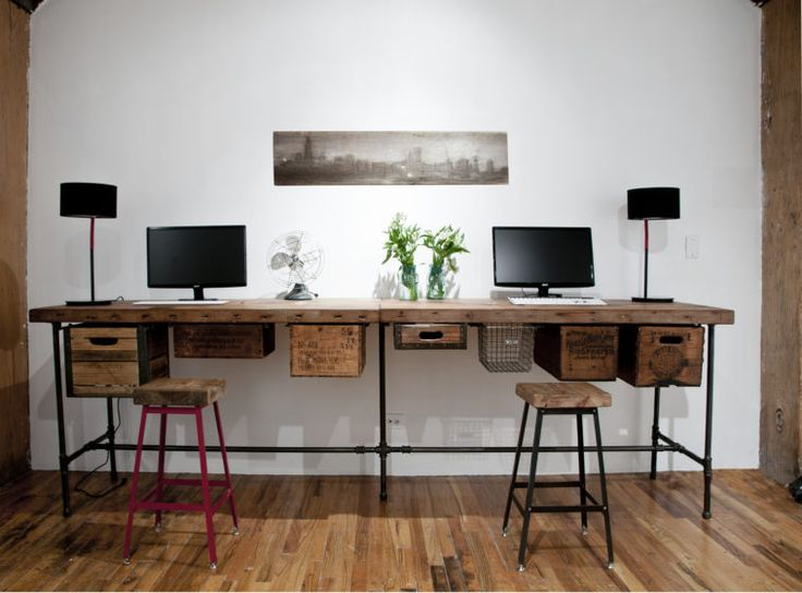 Nice Long Computer Desk For Two Best 25 Long Computer Desk Ideas On Pinterest Diy Crafts Best