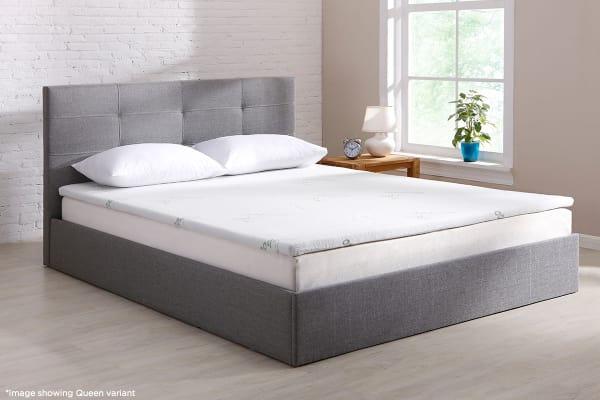 Nice Memory Foam Mattress Topper Queen Ovela Bamboo Memory Foam Mattress Topper Queen Kogan