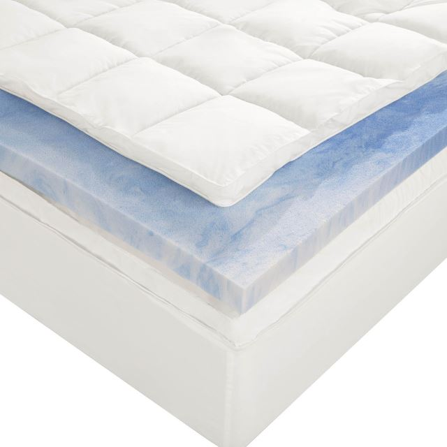 Nice Memory Foam Topper Reviews Best Memory Foam Mattress Toppers Of 2017 Reviews And Guide
