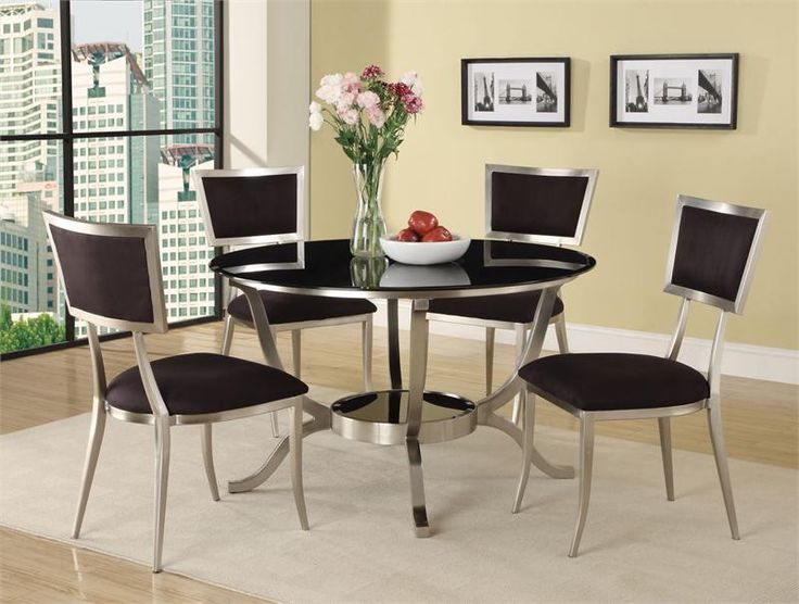 Nice Modern Glass Dining Table Set Best 25 Glass Dining Table Set Ideas On Pinterest Glass Dining