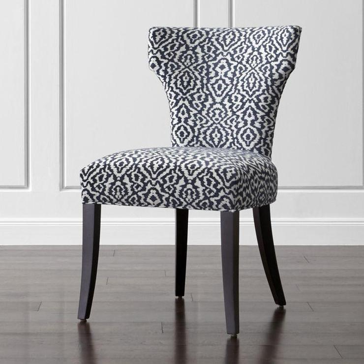 Nice Navy And White Dining Chairs And White Upholstered Dining Chair
