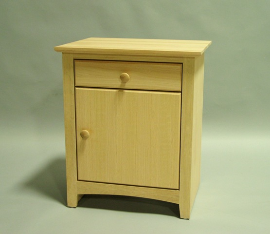 Nice Nightstand With Door And Drawer 1 Drawer Nightstand W Shelf