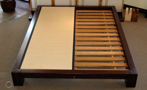 Nice Non Slatted Platform Bed Raku Japanese Tatami Bed Haikudesigns Wooden Works