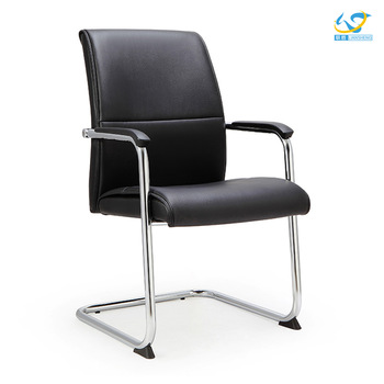 Nice Office Chair Without Wheels High Quality Middle Back Office Meeting Chair Without Wheels