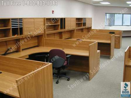 Nice Office Table With Storage Modular Office Casework Movable Millwork Storage Cabinets Photos