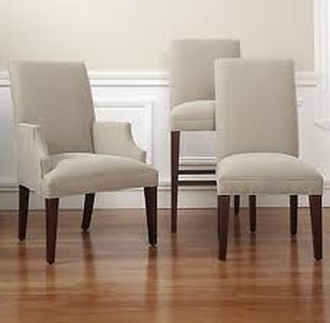 Nice Parsons Dining Chairs With Arms Parson Chairs With Arms Softening And Relaxing Dining Room