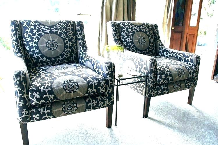 Nice Patterned Chairs Living Room Delightful Patterned Chairs Living Room Light Gray Leather And Blue