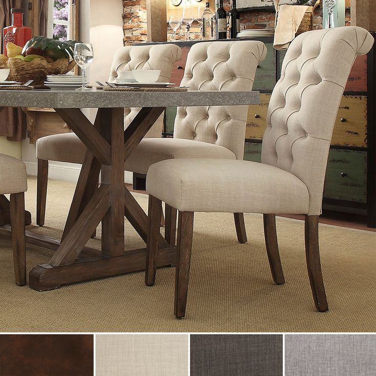 Nice Printed Upholstered Dining Chairs Marvelous Upholstered Parsons Dining Chairs With Script Printed