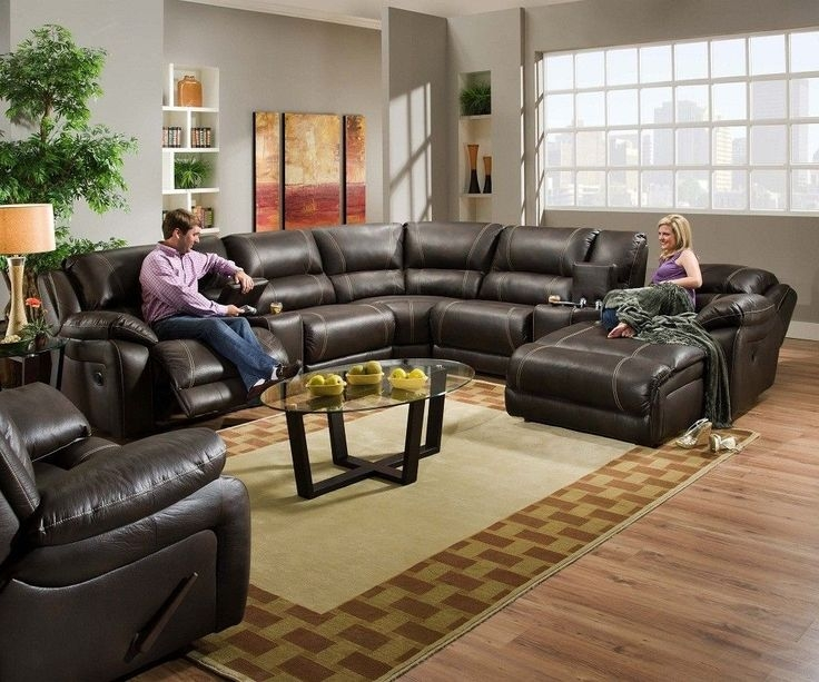 Nice Reclining Sofa With Chaise Lounge Living Room Incredible Leather Sectional Sofa With Chaise Recliner