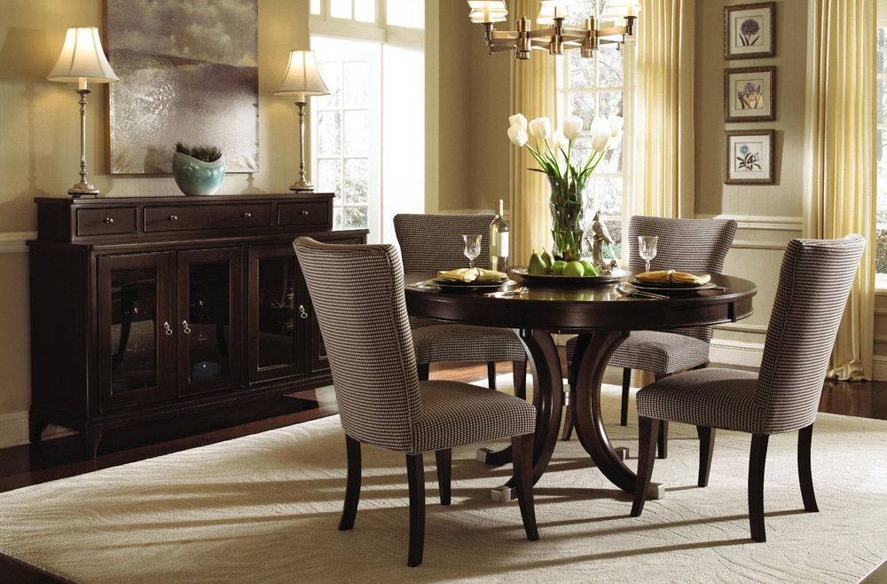 Nice Round Table Dining Room Cool Round Dining Room Table For 6 With Round Dining Room Table