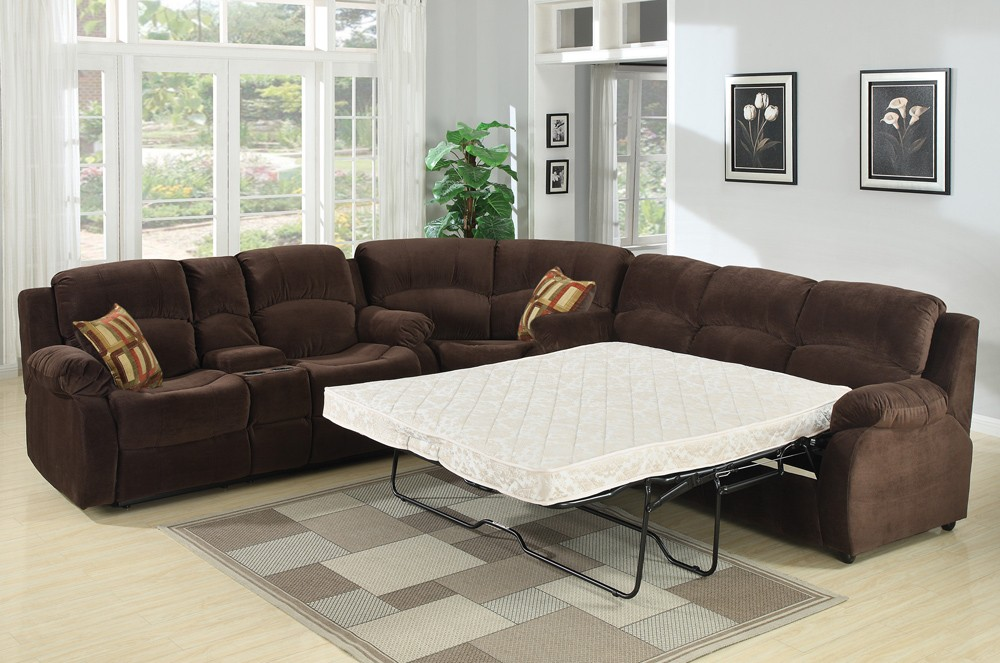 Nice Sectional Sleeper Sofa With Recliners Sectional Sleeper Sofa Bed Truna