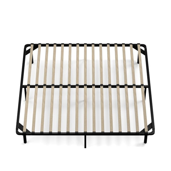 Nice Slat Bed Frame King Handy Living King Size Wood Slat Bed Frame Free Shipping Today