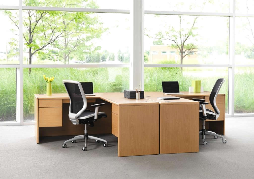 Nice Small Office Table And Chairs Furniture Designer Workstation Modern New Partition Office