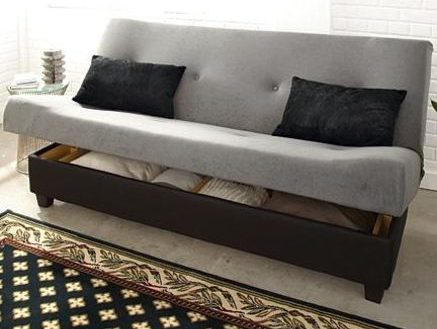 Nice Sofa Bed With Storage Underneath Futons With Storage Underneath Inside Sofa With Storage Underneath