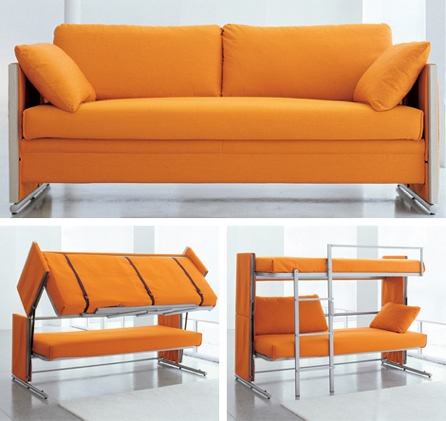 Nice Sofa That Turns Into A Bed Sofa Converts To Bunk Beds Craziest Gadgets