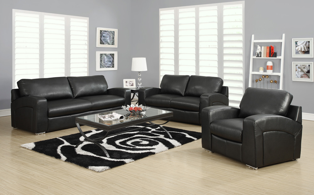 Nice Three Piece Leather Living Room Set Black Living Room Set Brown Living Room Sets Theme Black Living