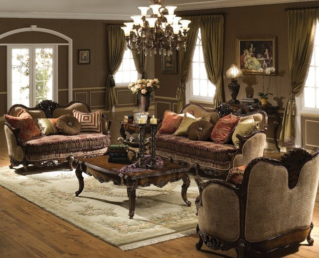 Nice Traditional Living Room Sets Victoria Living Room Set Traditional Living Room Orange