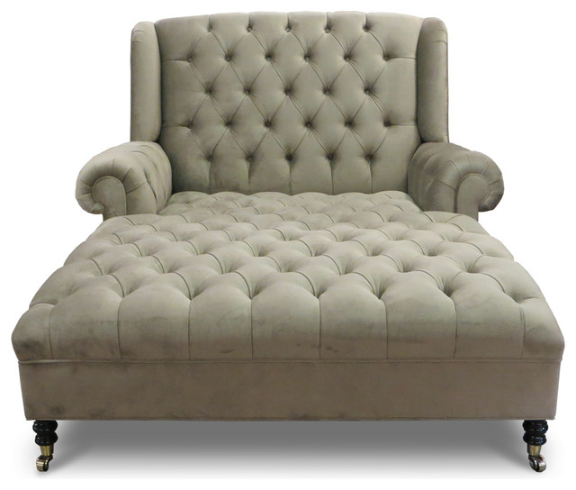 Nice Tufted Chaise Lounge Chair Smith Chaise Traditional Indoor Chaise Lounge Chairs