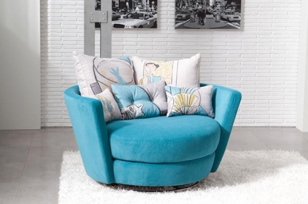 Nice Turquoise Blue Accent Chair Eye Catching And Colorful Accent Chairs And Recliners Decor Advisor