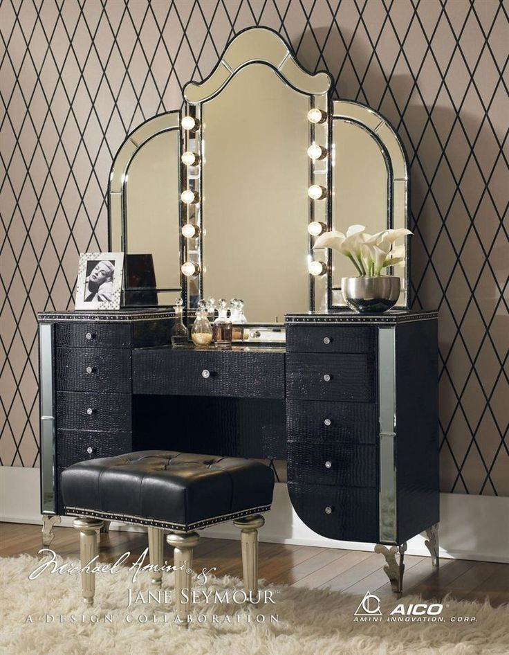 Nice Vanity Sets With Mirror And Bench Beautiful Table Vanity Mirror Best Ideas About Vanity Tables On
