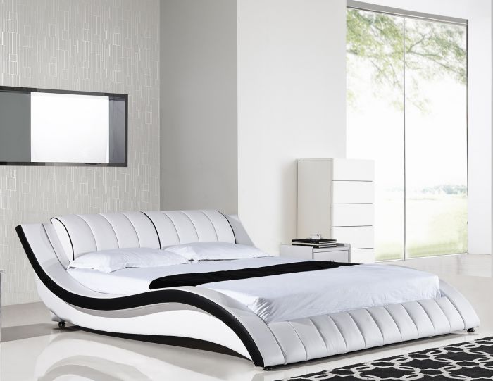 Nice White California King Bed American Eagle B D030 Ck Modern White California King Platform Bed