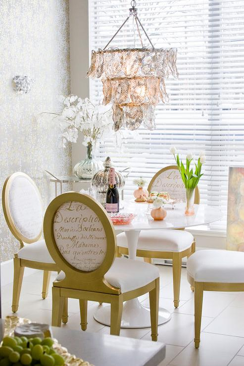 Nice White Round Back Dining Chairs Round Back Dining Chairs French Dining Room Dodson And