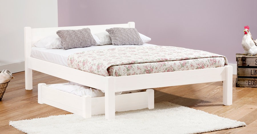 Nice White Wooden Bed Frame White Knight Bed Get Laid Beds