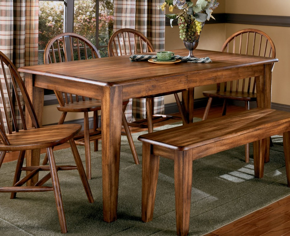 Stunning 4 Wooden Dining Chairs Old And Vintage Country Style Dining Room Sets With Varnish Wooden
