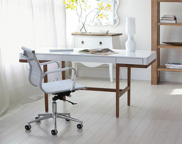Stunning Affordable Home Office Desks Two Affordable Home Office Desks With A Vintage Vibe At Home
