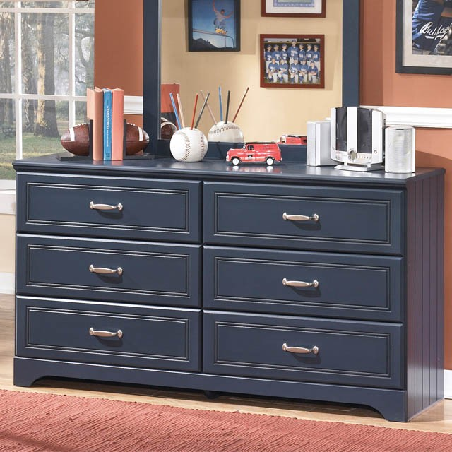 Stunning Ashley Furniture Blue Dresser Leo Youth Dresser Bernie Phyls Furniture Ashley Furniture
