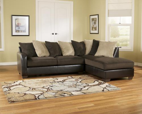Stunning Ashley Furniture Brown Sectional Ashley Furniture Gemini Chocolate Contemporary Faux Leather