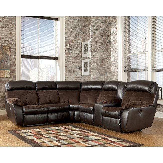 Stunning Ashley Furniture Reclining Sectional Berneen Coffee Reclining Sectional Signature Design Ashley
